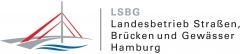 Logo:Freie und Hansestadt Hamburg, Landesbetrieb Straßen, Brücken und Gewässer