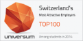 Universum Switzerland's Most Attractive Employers 2014
