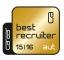 Best Recruiter Österreich Gold 2015/2016