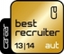 Best Recruiter Österreich Gold 2013/2014