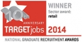 Target Jobs National Graduate Recruitment Awards Winner 2014