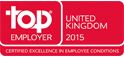 Top Employer United Kingdom 2015