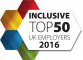 Inclusive Top 50 UK Employers 2016