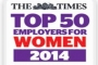 The Times Top 50 Employers for Women 2014