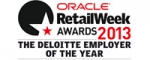 Oracle Retail Week Awards 2013 Deloitte Employer of the Year