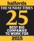 The Sunday Times 25 Best Big Companies to work for 2015