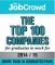 The Job Crowd Top 100 Companies for Graduates to work for in 2014/15