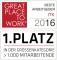 1. Platz bei Great Place To Work 2016