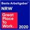 Bester Arbeitgeber NRW 2020