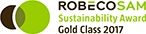 ROBECOSAM Sustainbility Award Gold Class 2017