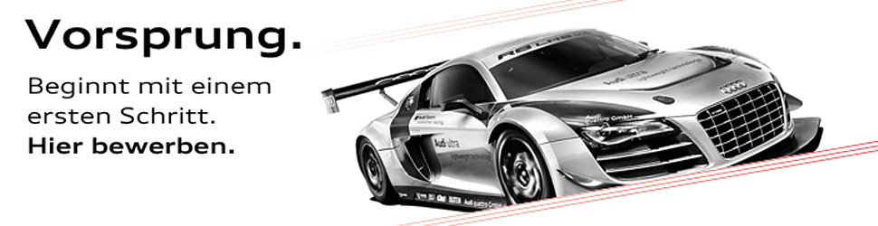 about us - Audi Bewerben