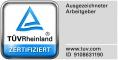 TÜV Zertifizierung: Ausgezeichneter Arbeitgeber