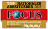 Top Nationaler Arbeitgeber Focus 2015